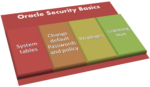 basics of oracle database security