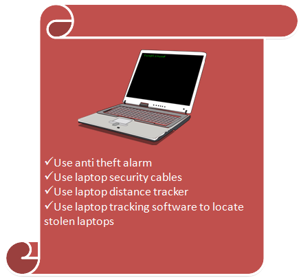 Laptop Security Devices and Tips