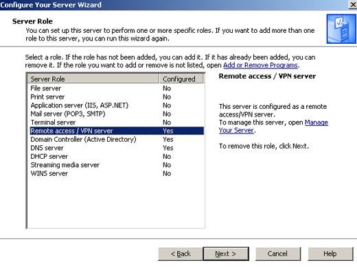 install ras server