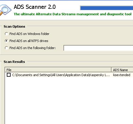 alternate data stream scanning