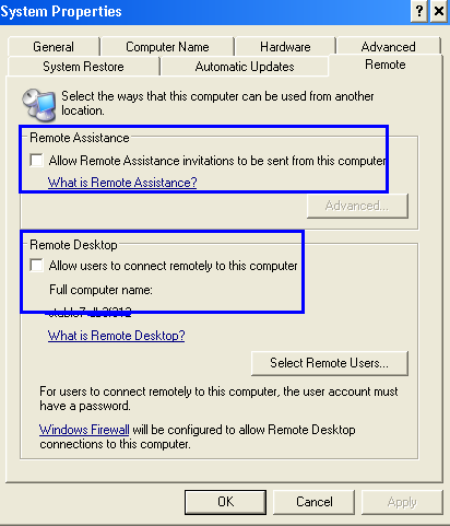 how to disable remote desktop