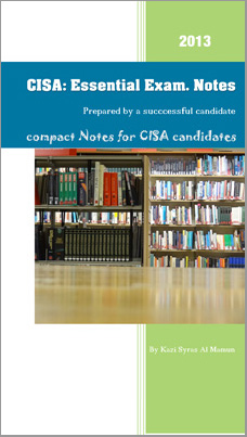 cisa exam notes