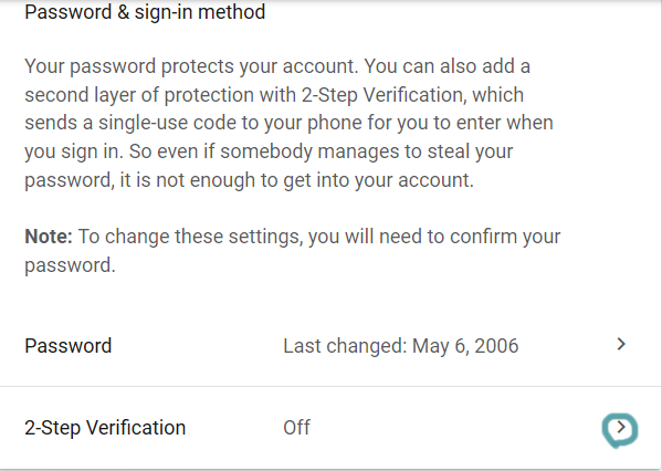 how to enable two steps verification in gmail