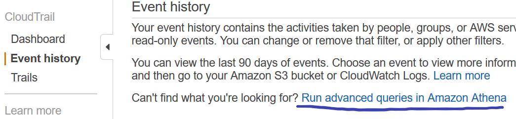 run advanced queries in amazon athena